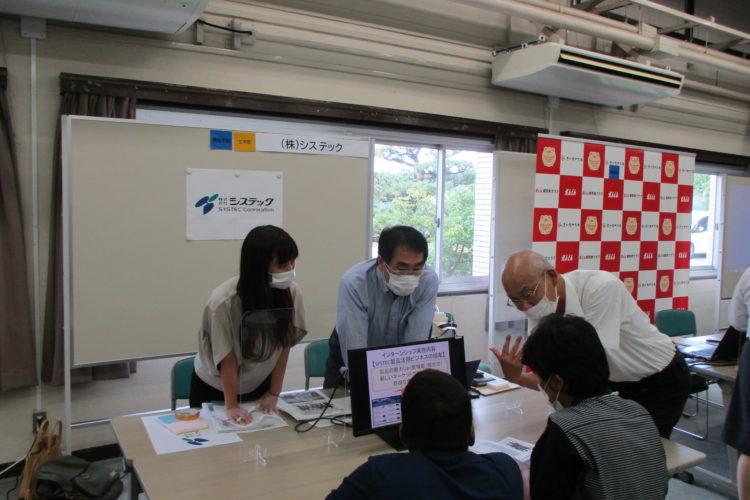 「留学生インターンシップ合同説明会」に参加しました。