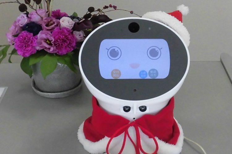 """新都田工場受付システム""""ウェルボ""""が衣替えしました(クリスマスVer)"""