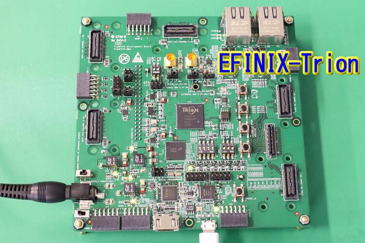 【21.06.04】EFINIX-FPGA 評価中